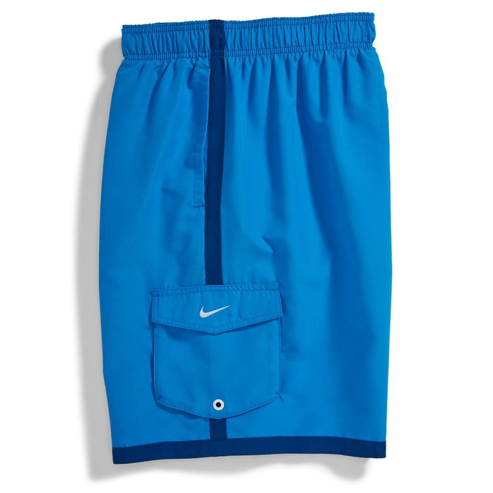 NIKE Men's Core Cargo Volley Shorts - HORIZON BLUE
