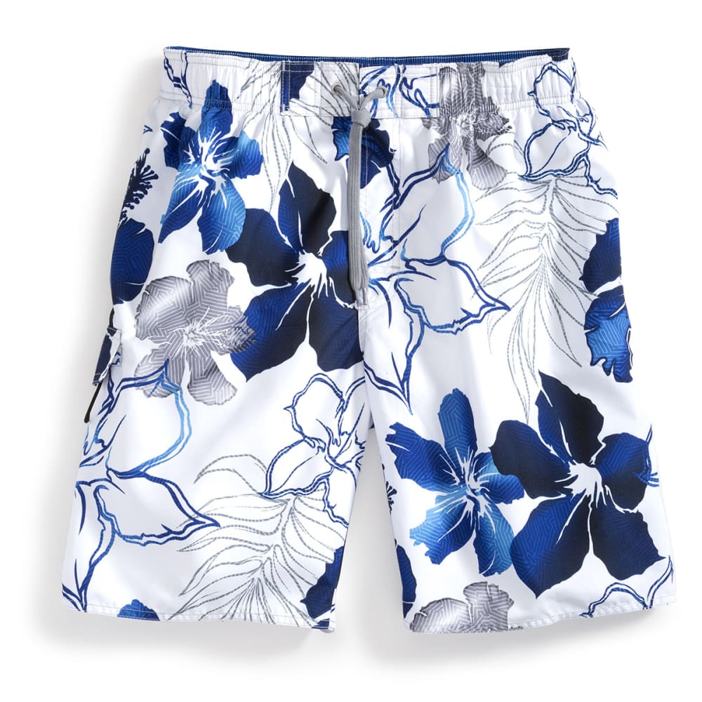 NEWPORT BLUE Men's Maui Maze 2 Swimsuit - WHITE/PERIWINKLE