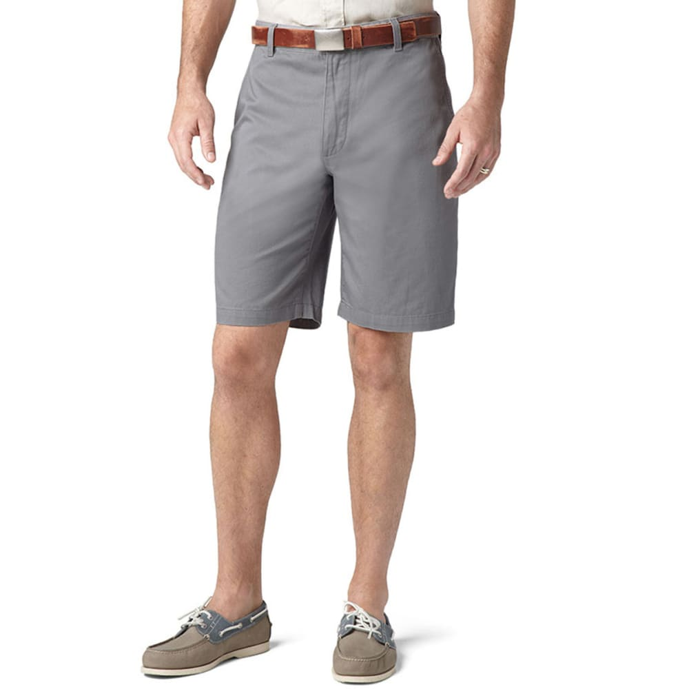 DOCKERS Men's Perfect Flat Front Shorts - SEA CLIFF