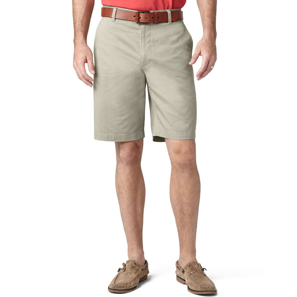 DOCKERS Men's Perfect Flat Front Shorts - SAND DUNE