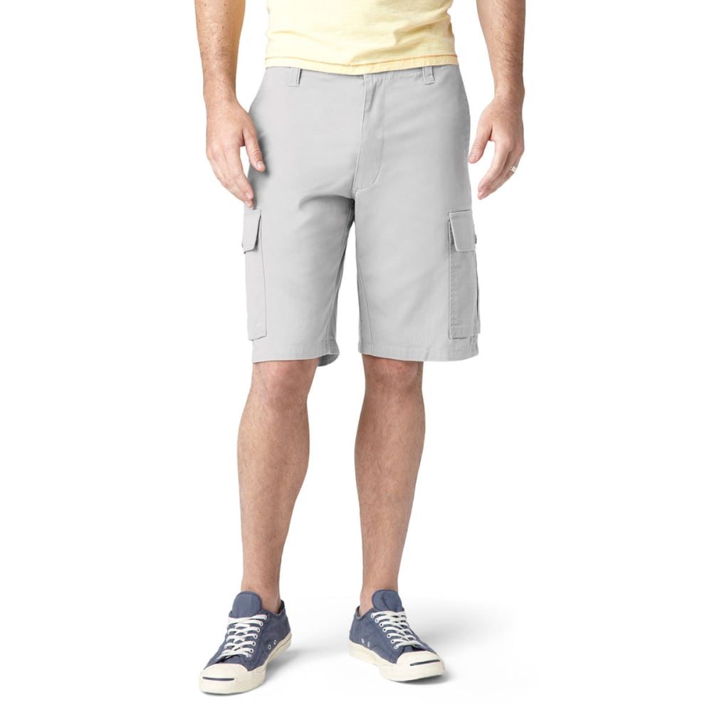 DOCKERS Men's Khaki Core Cargo Shorts - PORCELAIN-0003