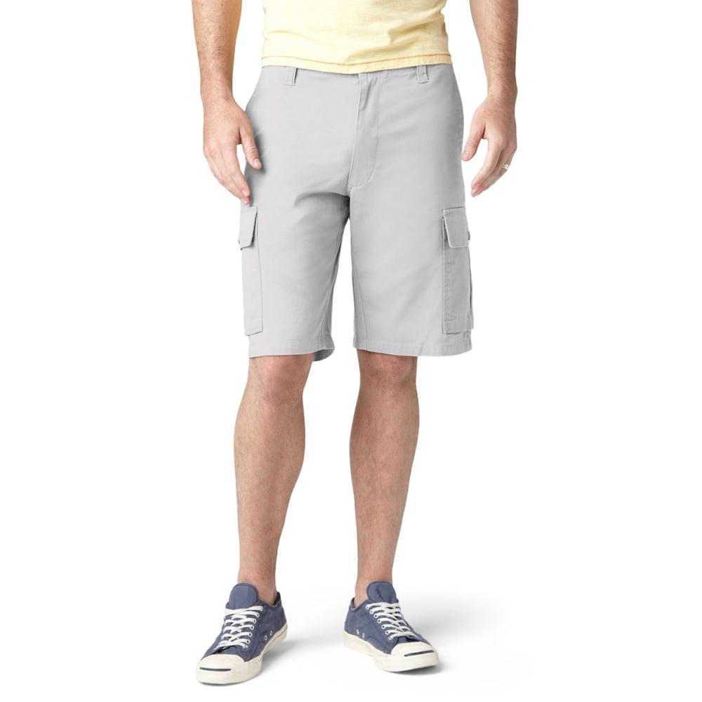 DOCKERS Men's Khaki Core Cargo Shorts - PORCELAIN-0003