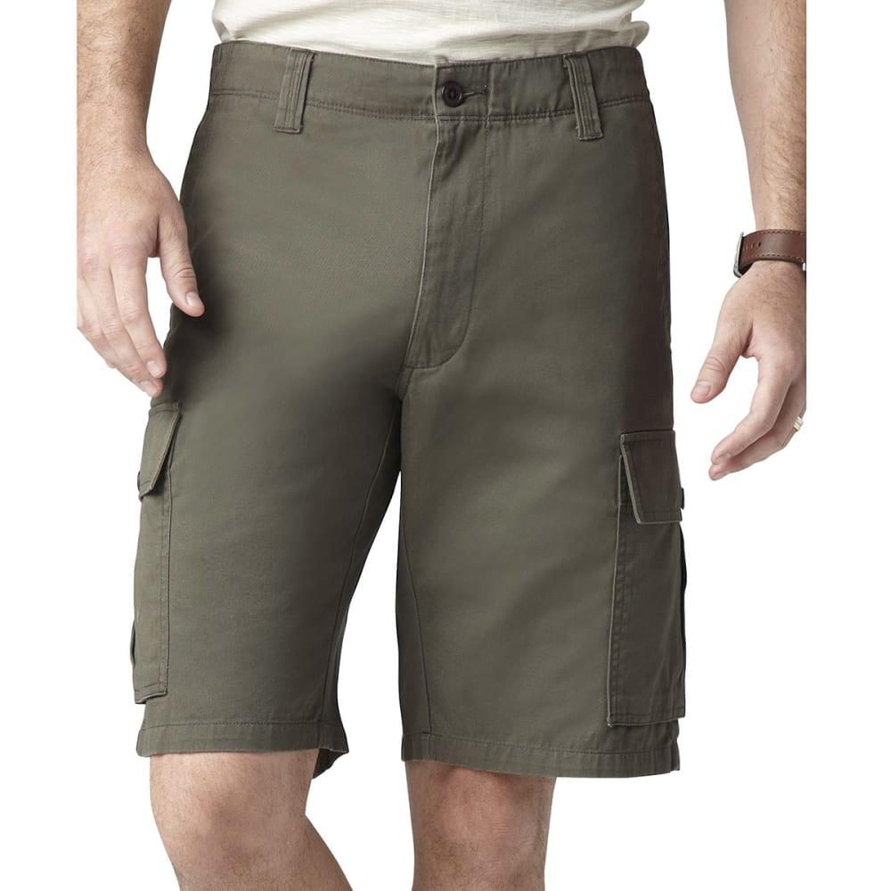 DOCKERS Men's Khaki Core Cargo Shorts - OREGANO
