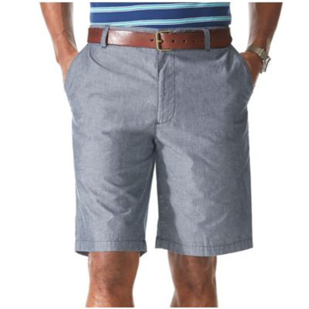 DOCKERS Men's Print and Plaid Shorts - INDIGO