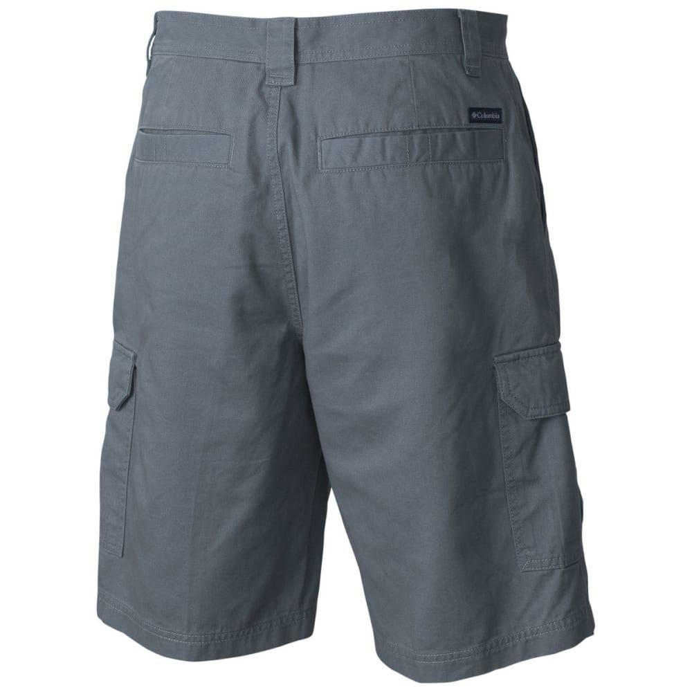 COLUMBIA Men's Brownsmead II 8 in. Shorts - 021-GRAY ASH