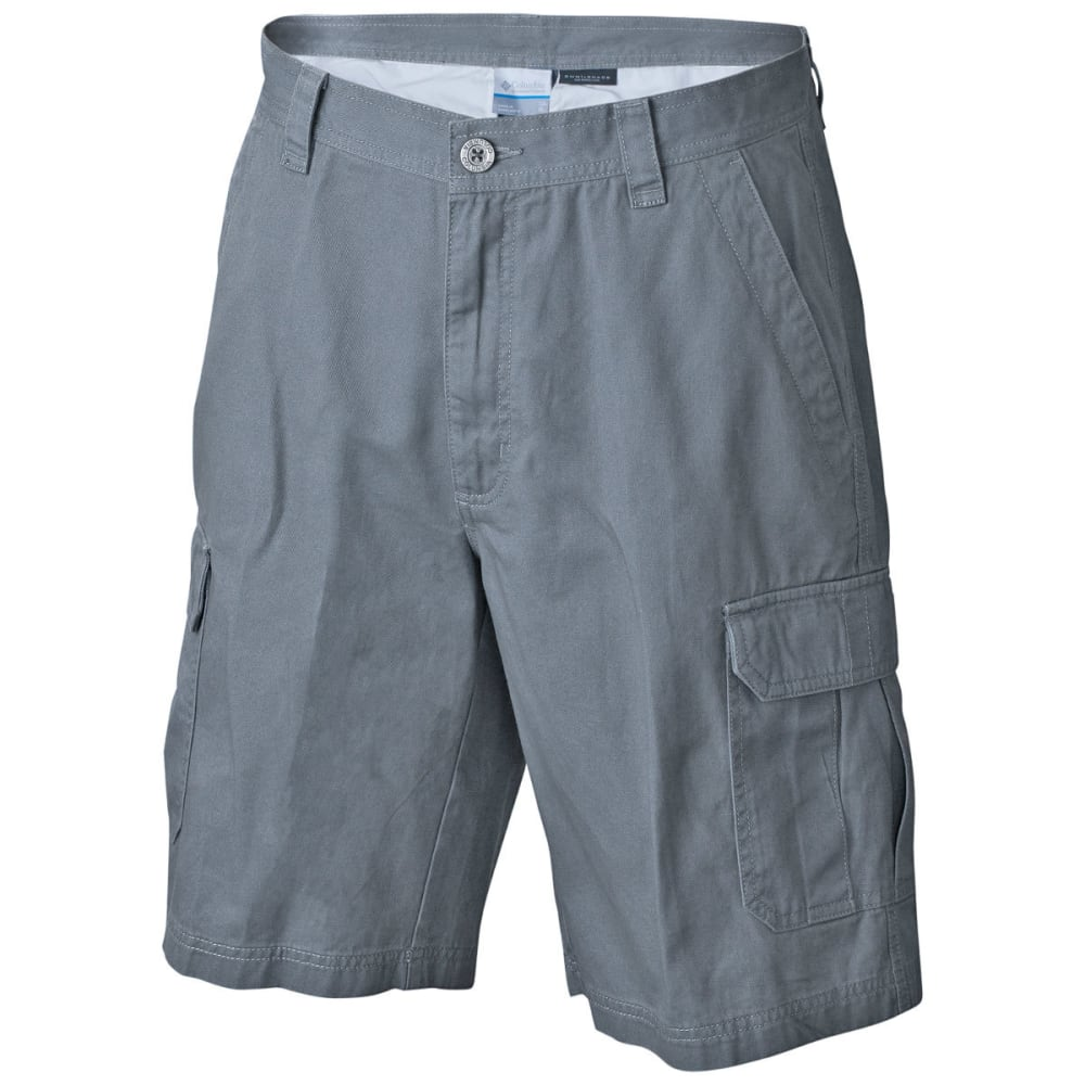 COLUMBIA Men's Brownsmead II 8 in. Shorts - 021-GRAY ASH