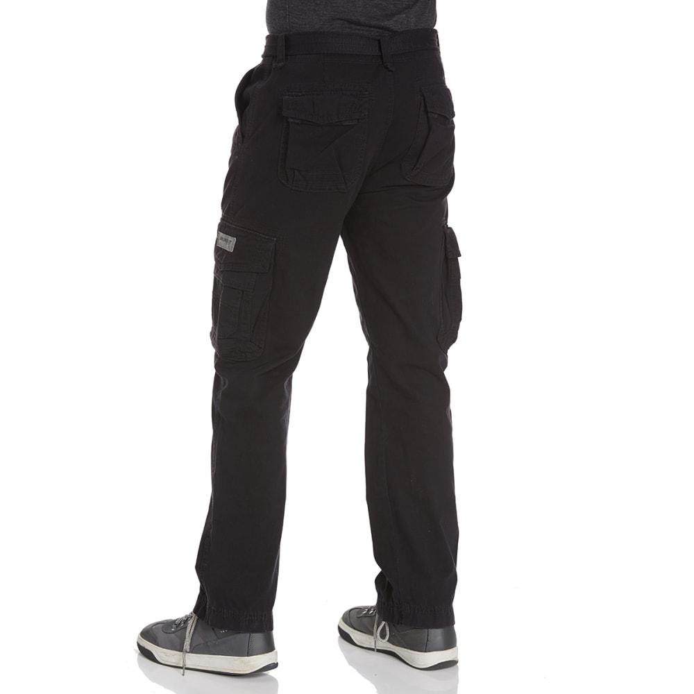 UNIONBAY Guys' Survivor Cargo Pants - BLACK 667Y