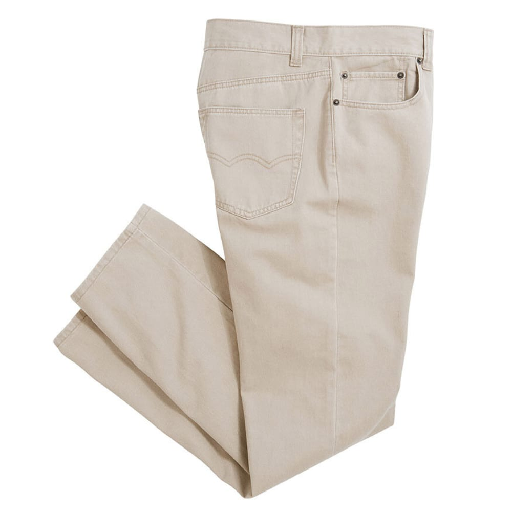 Crossfire 514 Men's 5 Pocket Twill - Brown, 28/30