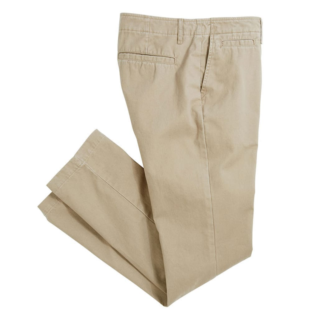 CROSSFIRE Men's Slim Chino Flat Front with Extra Pocket  VALUE DEAL - KHAKI