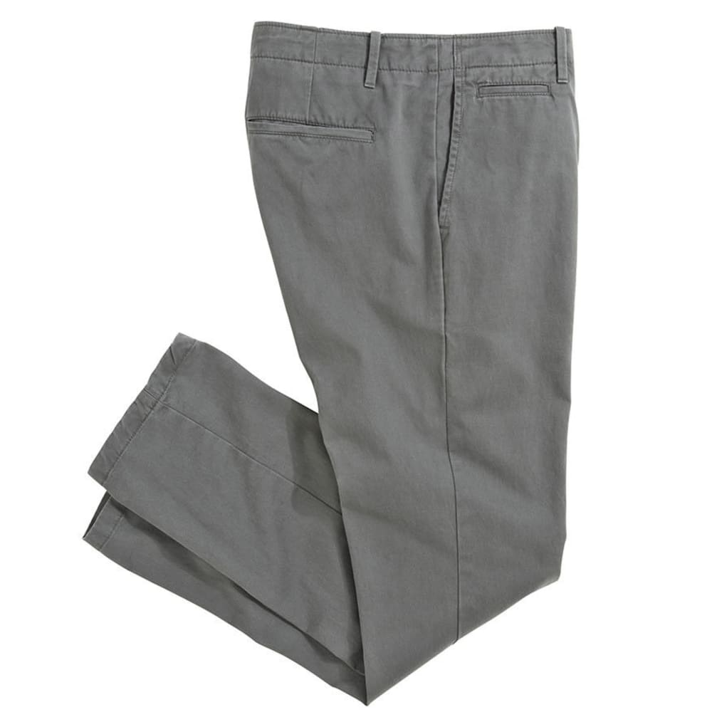 CROSSFIRE Men's Straight Fit Flat Front Pant - CHARCOAL