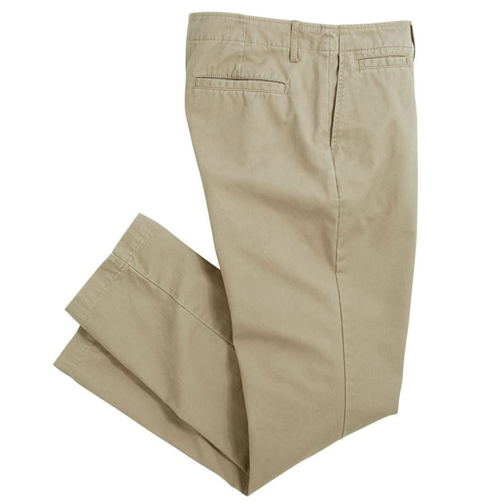 CROSSFIRE Men's Straight Fit Flat Front Pant  VALUE DEAL - KHAKI