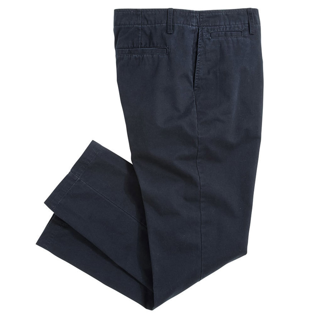 CROSSFIRE Men's Straight Fit Flat Front Pant VALUE DEAL - NAVY