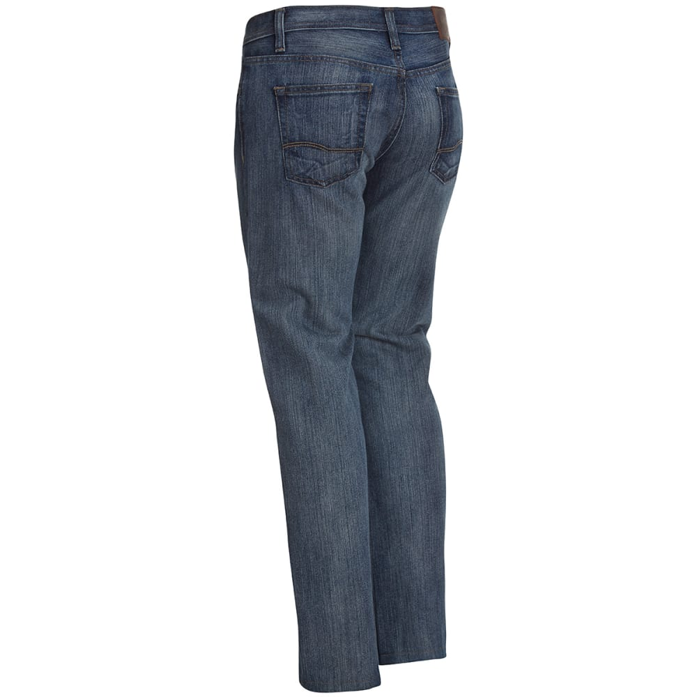 HOLLYWOOD DENIM Guys' Slim Straight Jeans - LIGHT BLUE