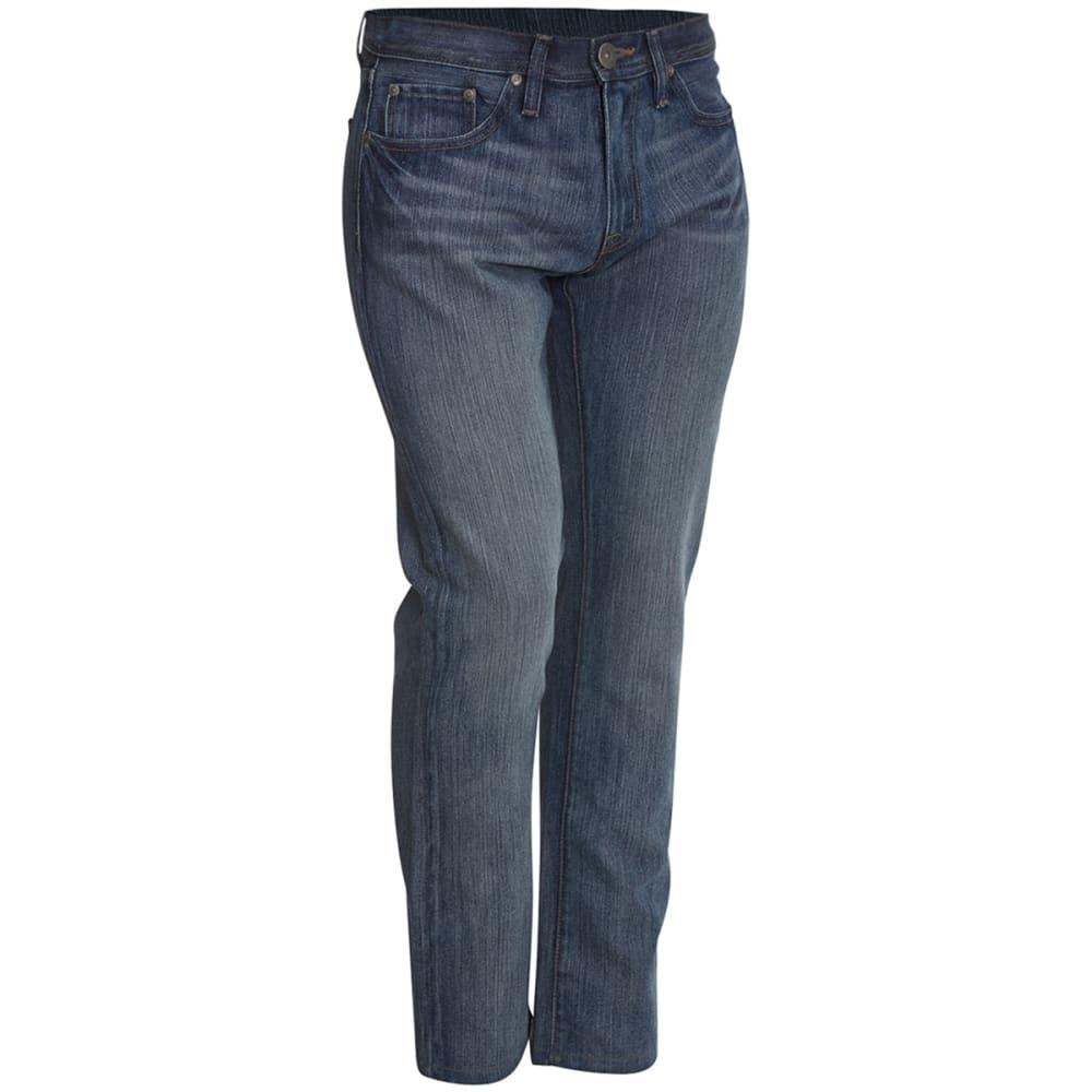 HOLLYWOOD DENIM Guys' Slim Straight Jeans - LIGHT BLUE