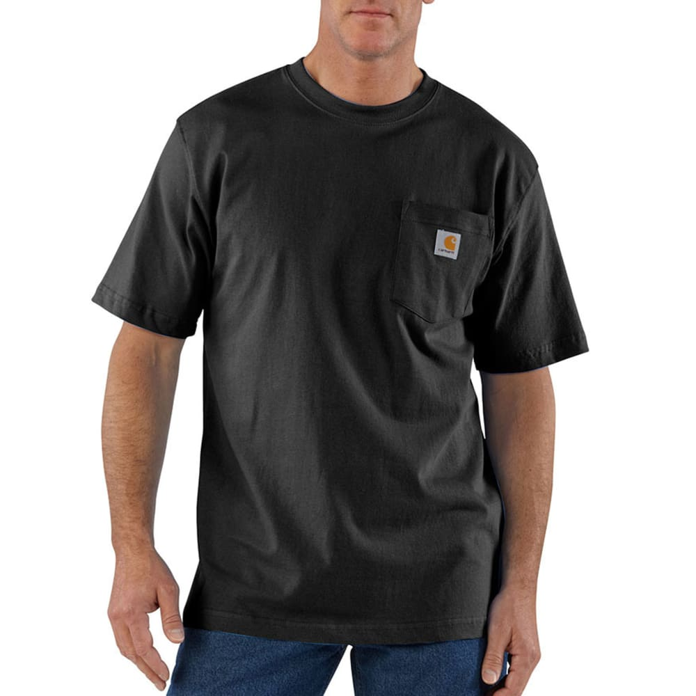CARHARTT Men's K87 Workwear Pocket Short-Sleeve Shirt L