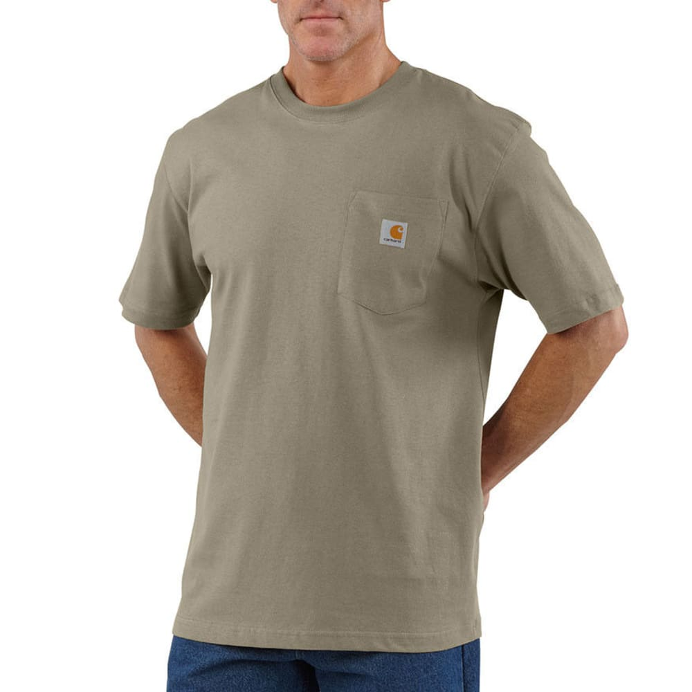 CARHARTT Men's Workwear Pocket Short-Sleeve Shirt L