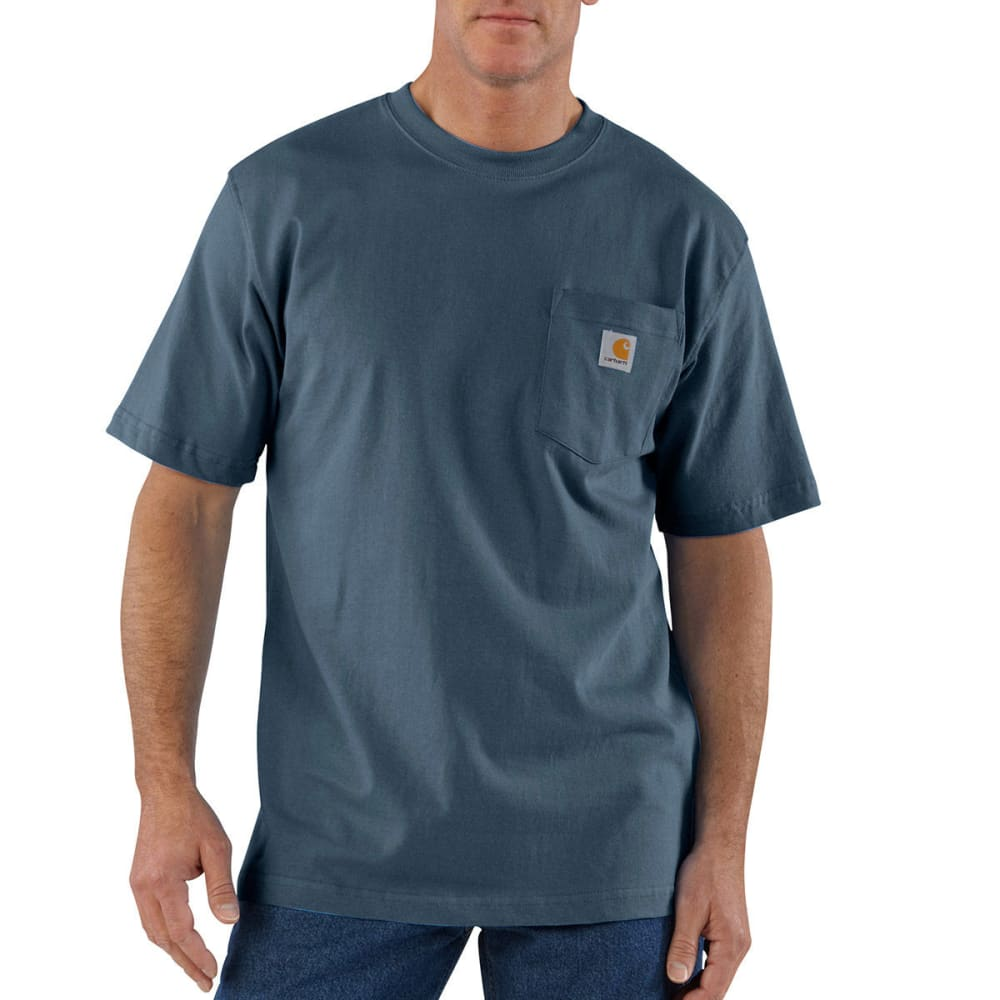 CARHARTT Men's K87 Workwear Pocket Short-Sleeve Shirt M