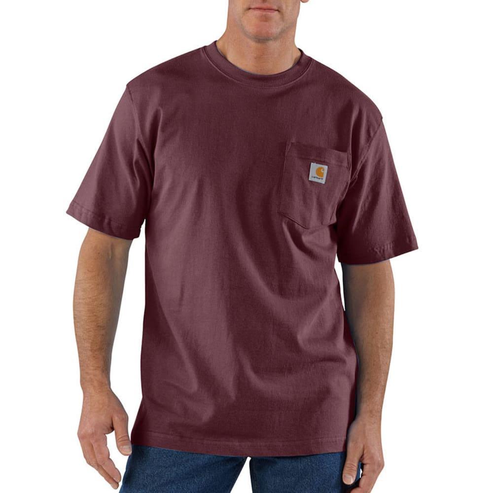 CARHARTT Men's Workwear Pocket Short-Sleeve Shirt - PORT PRT