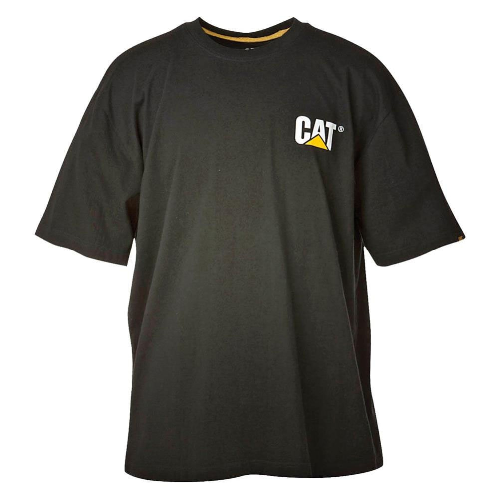 CAT Men's Trademark Tee - Black, L