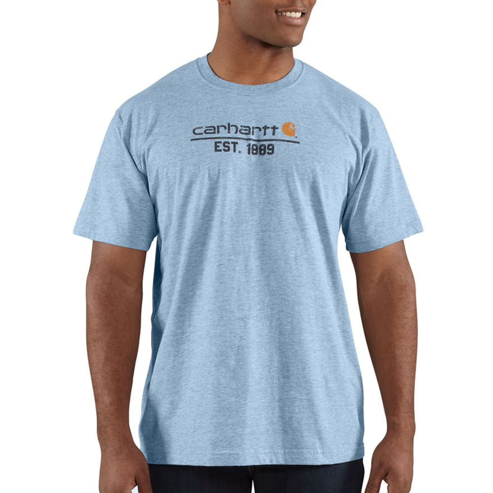 CARHARTT Men's Logo 1899 T-Shirt - HORIZON BLUE