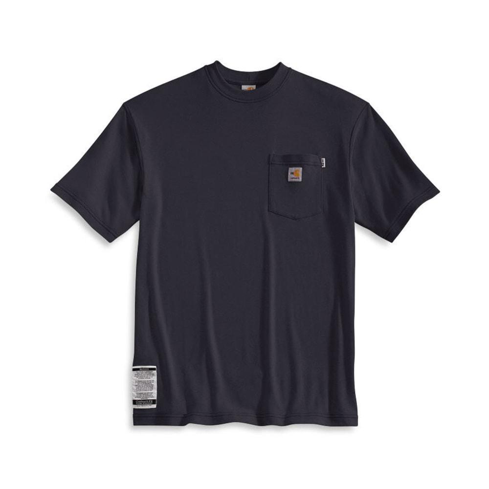 CARHARTT Men's Flame-Resistant Traditional T-Shirt - DARK NAVY