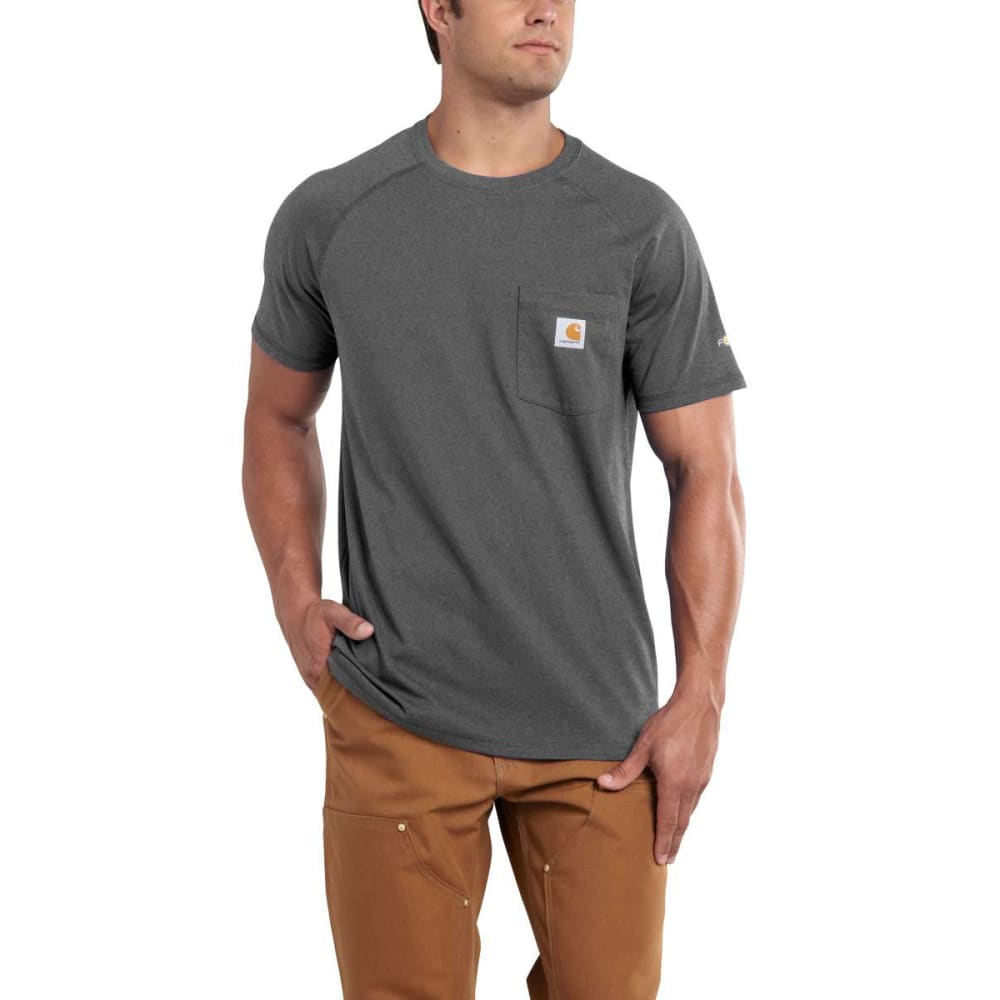 CARHARTT Men's Carhartt Force Tee - CARB HTR 026