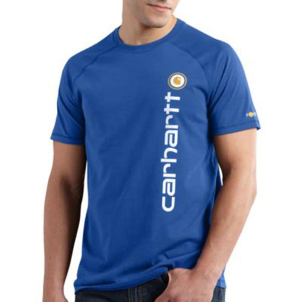 CARHARTT Men's Force Short-Sleeve Delmont Graphic Shirt S