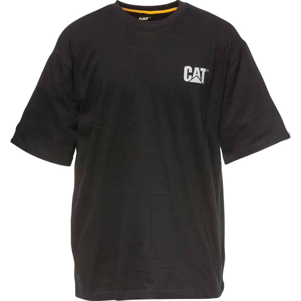 CAT Men's Yoke Short-Sleeve Tee - BLACK 016