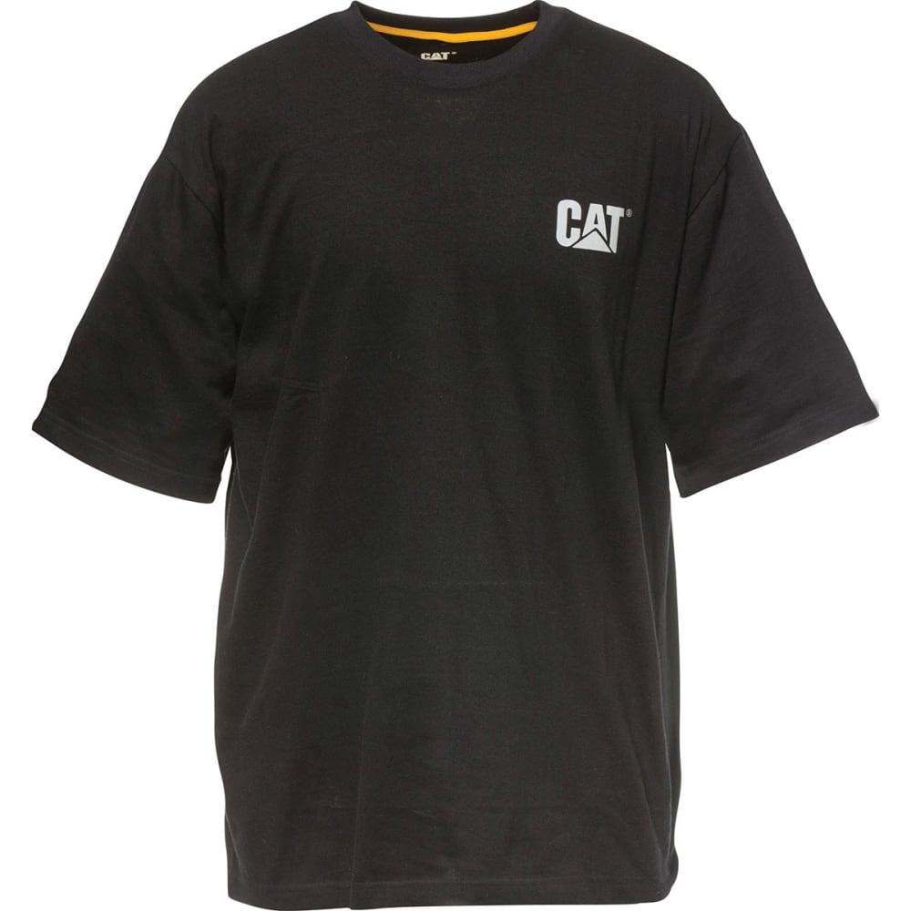 CAT Men's Yoke Short-Sleeve Tee - BLACK 016
