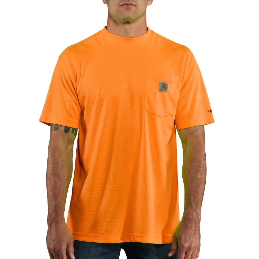 CARHARTT Men's Force® Color Enhanced Short-Sleeve T-Shirt - ORANGE SHERBET