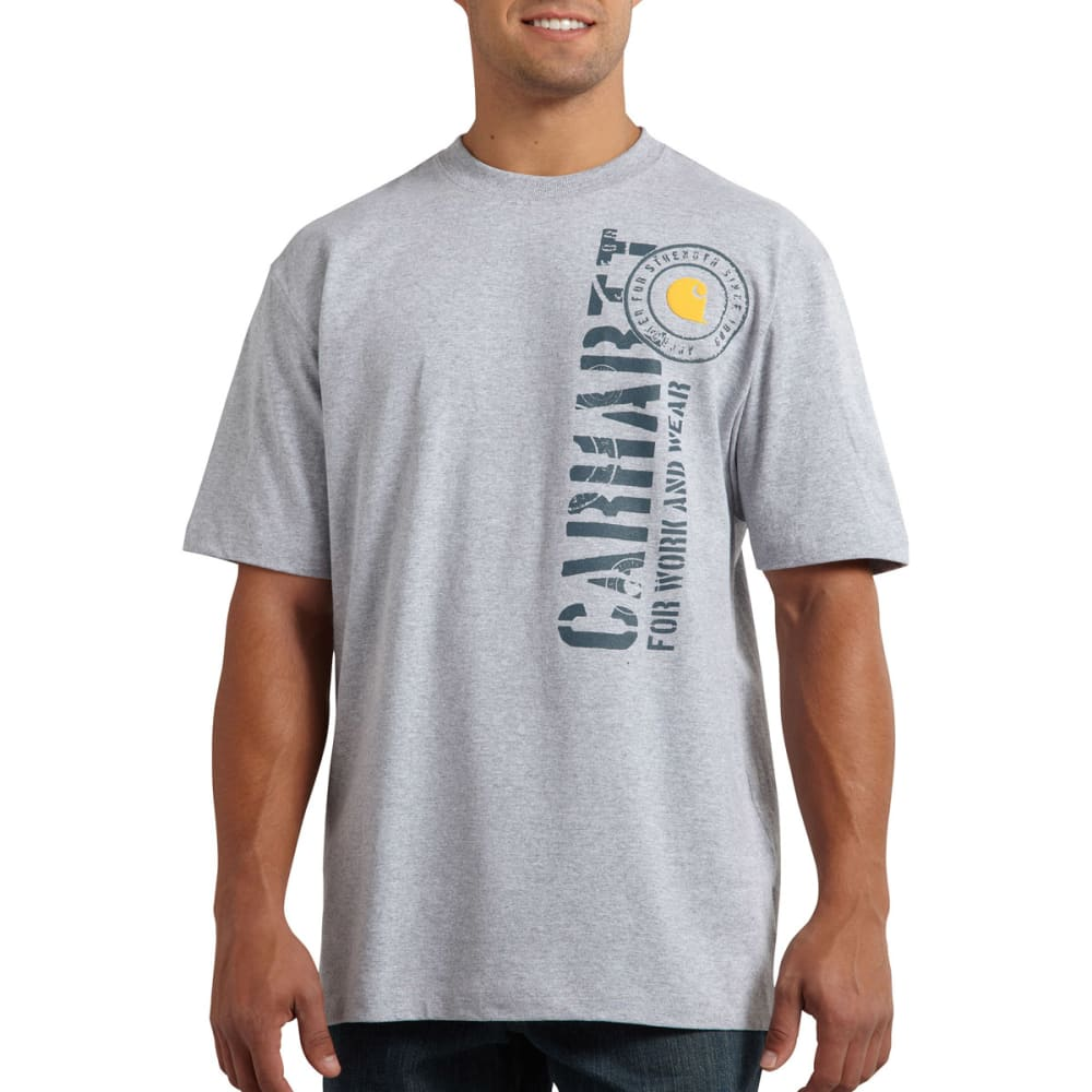 CARHARTT Men's Workwear Graphic Work N' Wear T-Shirt - HEATHER GREY