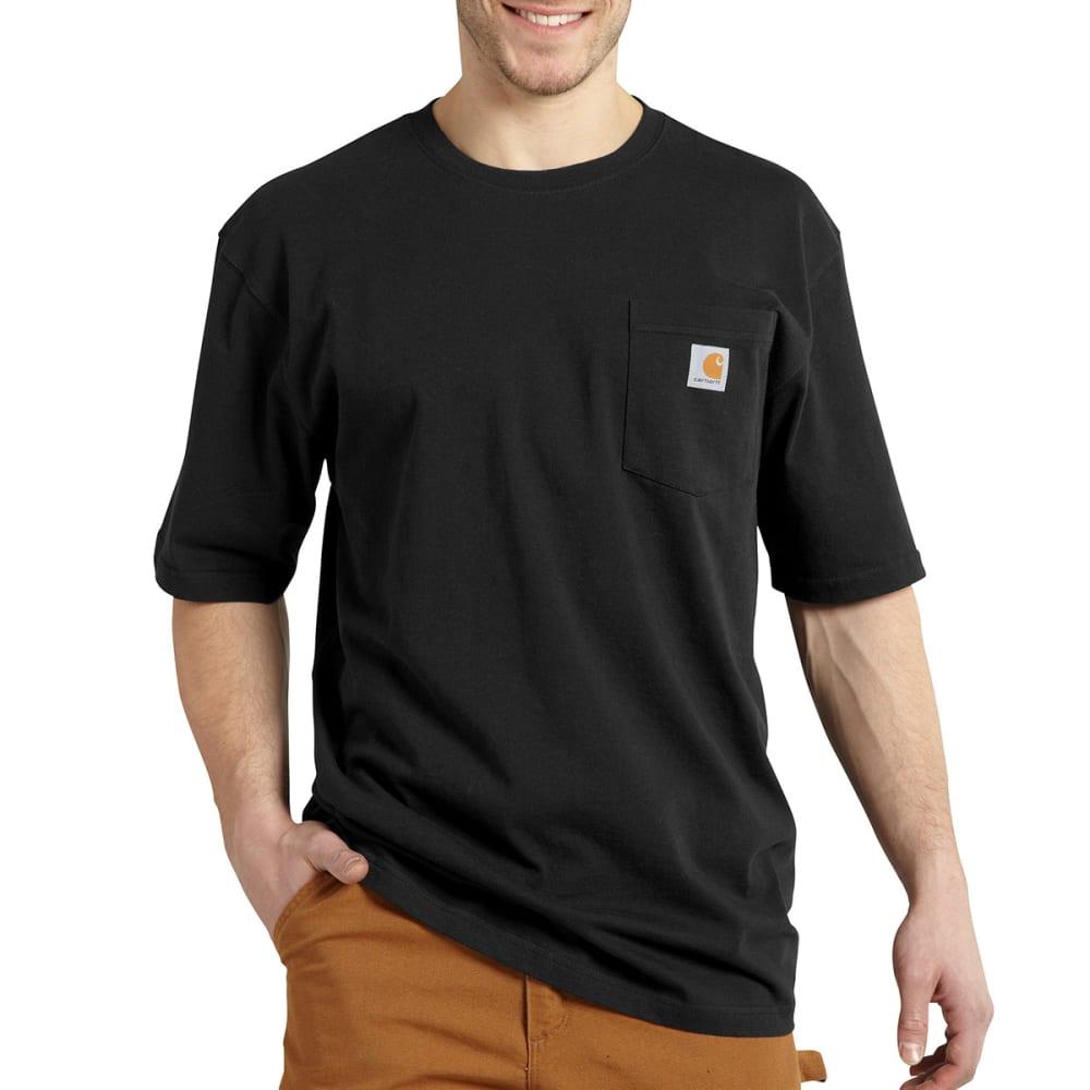 CARHARTT Men's Workwear Graphic Dogs T-Shirt - BLACK
