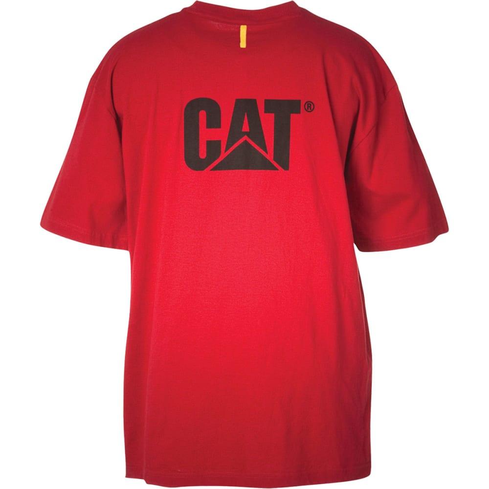 CAT Men's Trademark Tee - CHILI RED