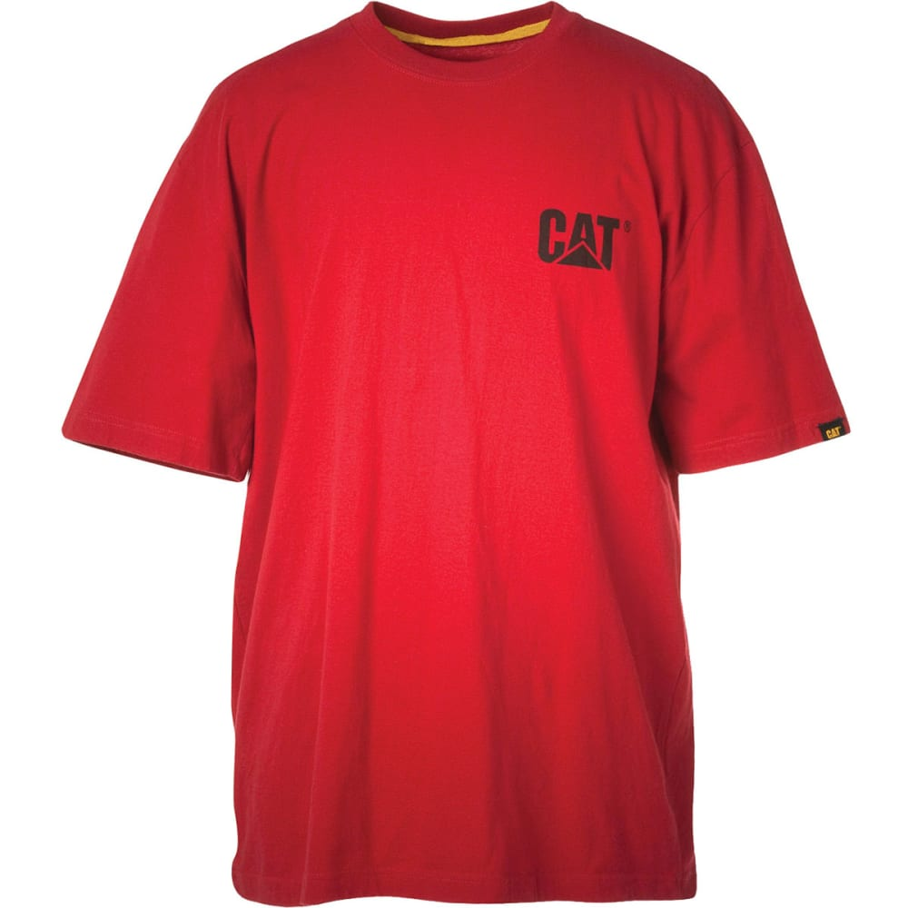 CAT Men's Trademark Tee - CHILI RED
