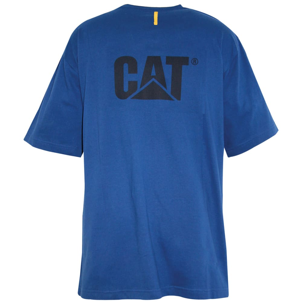 CAT Men's Trademark Tee - BRIGHT BLUE