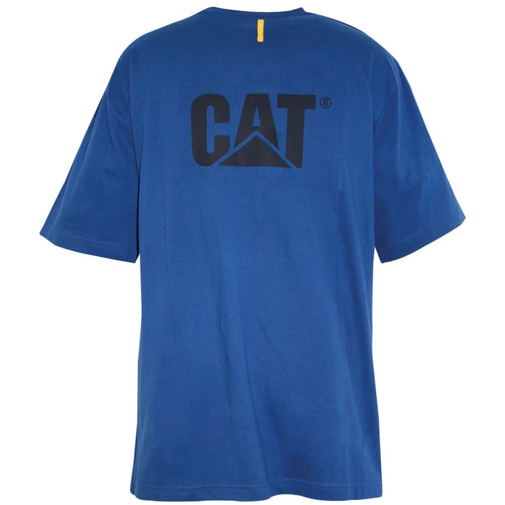 CAT Men's Trademark Tee - BRIGHT BLUE