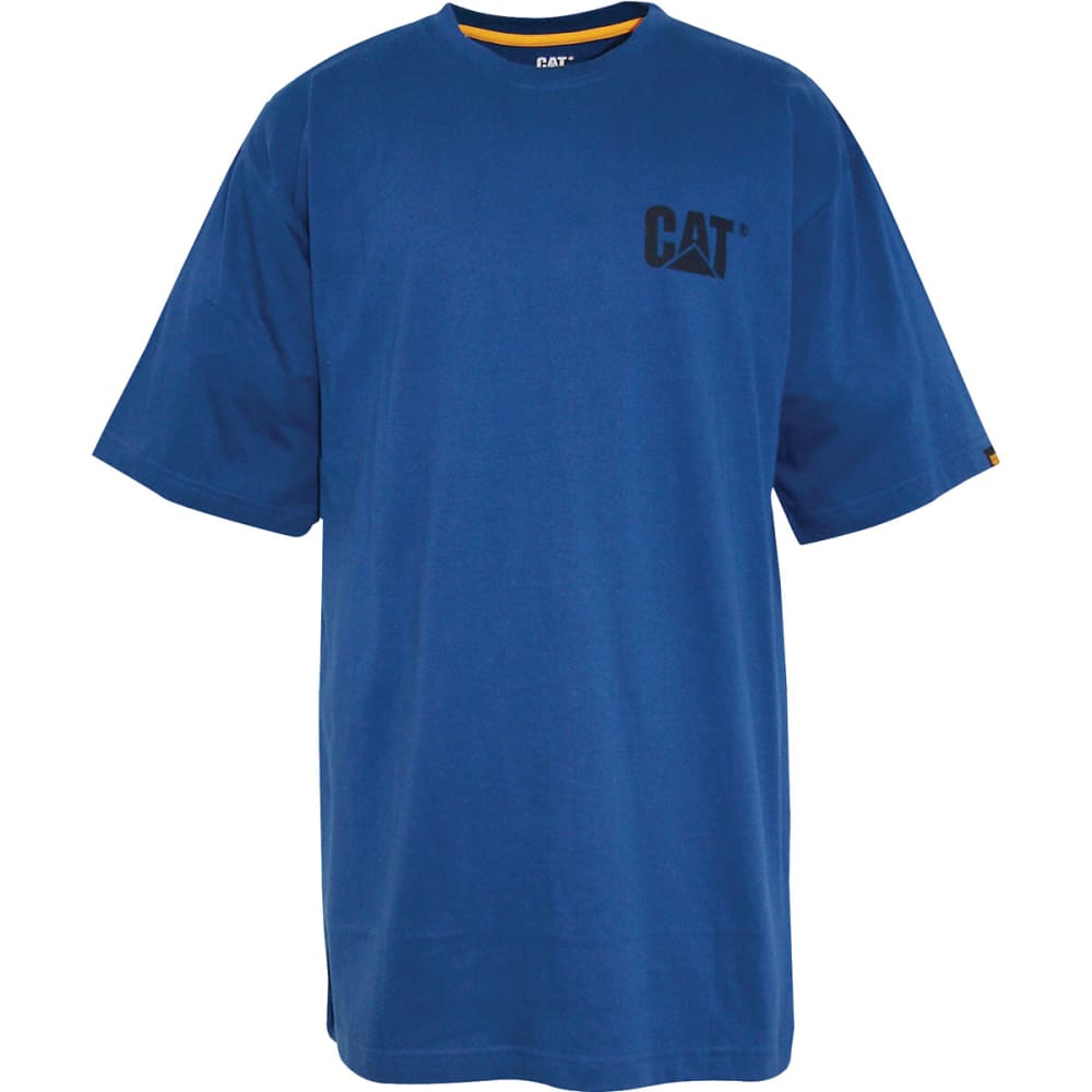 CAT Men's Trademark Tee - Blue, M