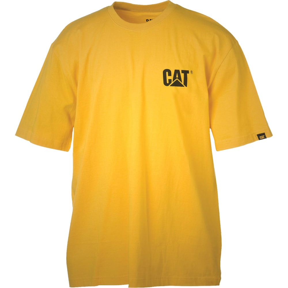 CAT Men's Trademark Tee - YELLOW
