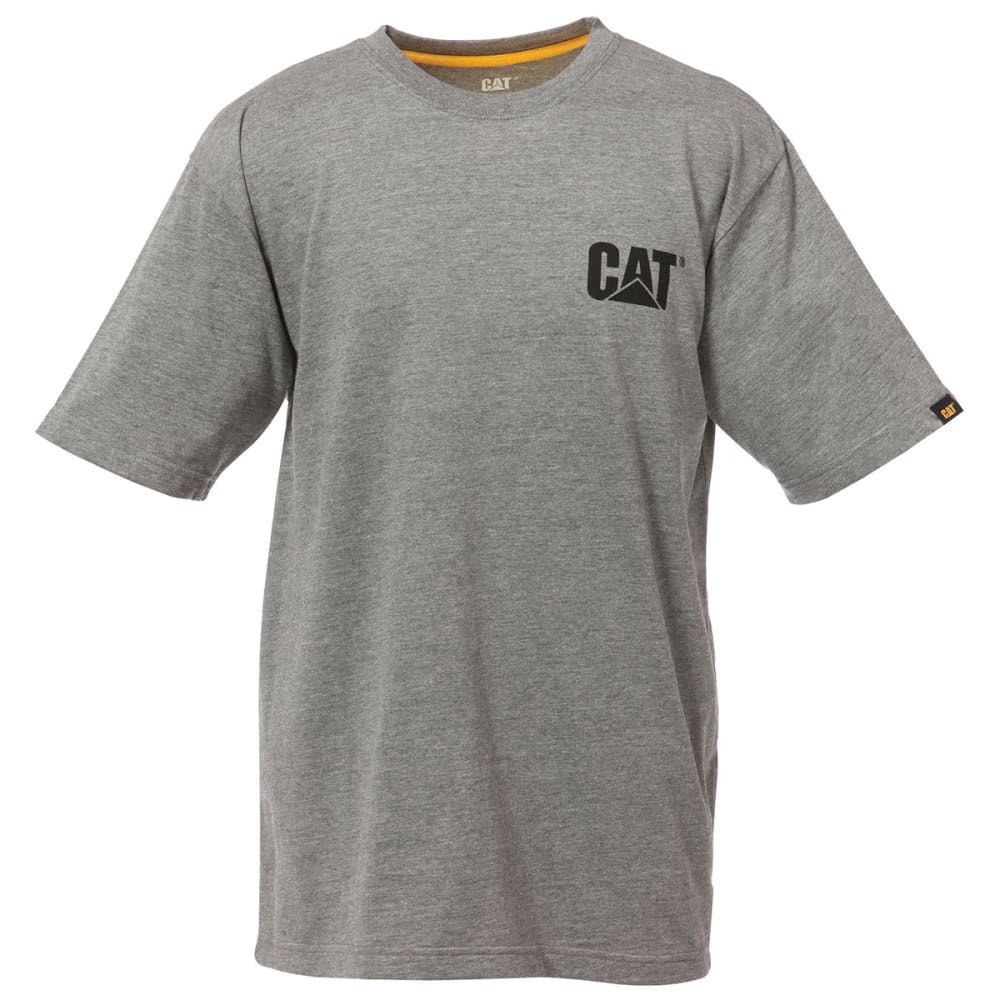 CAT Men's Trademark Tee - HTHR GREY