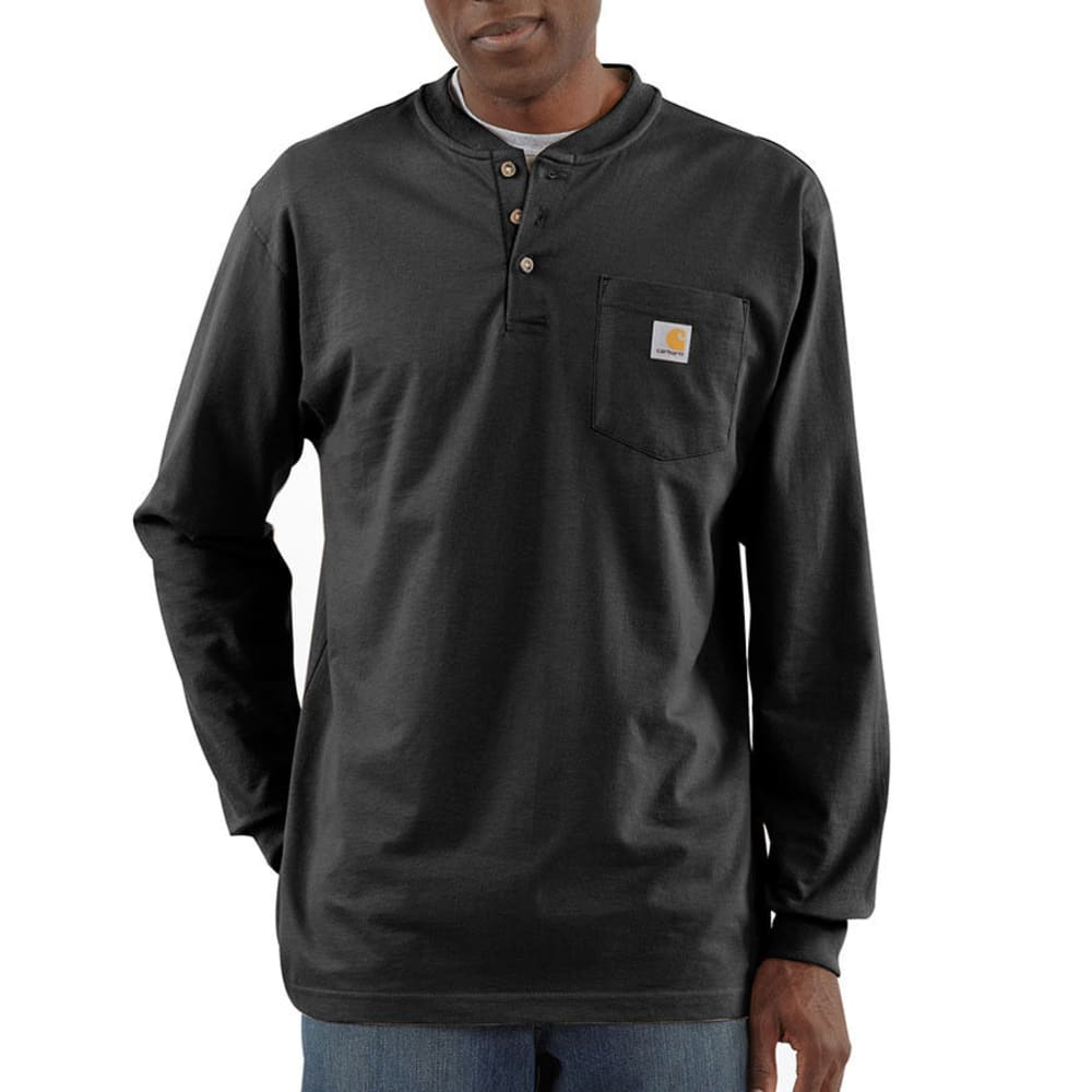 CARHARTT Men's Workwear Pocket Long-Sleeve Henley XS