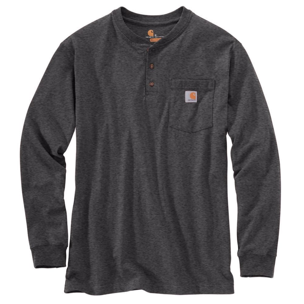 CARHARTT Men's Workwear Pocket Long-Sleeve Henley S