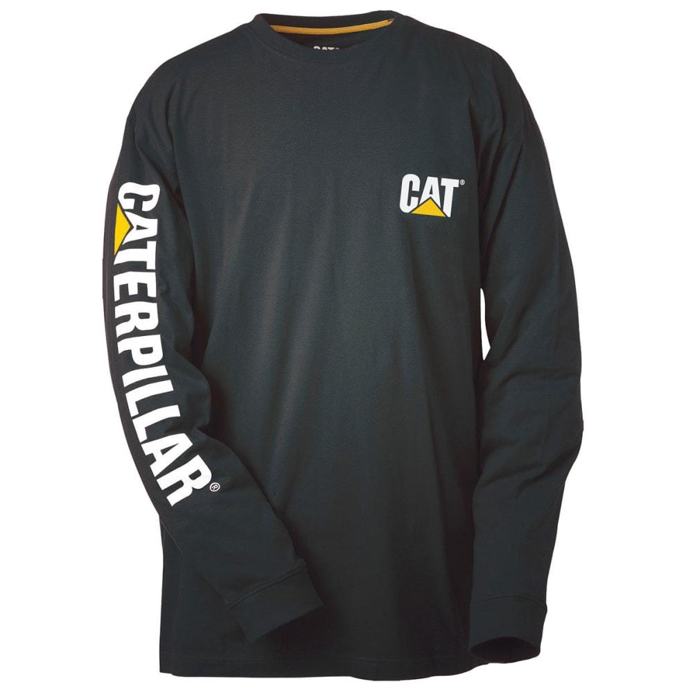 CAT Men's Trademark Banner Tee - BLACK 016