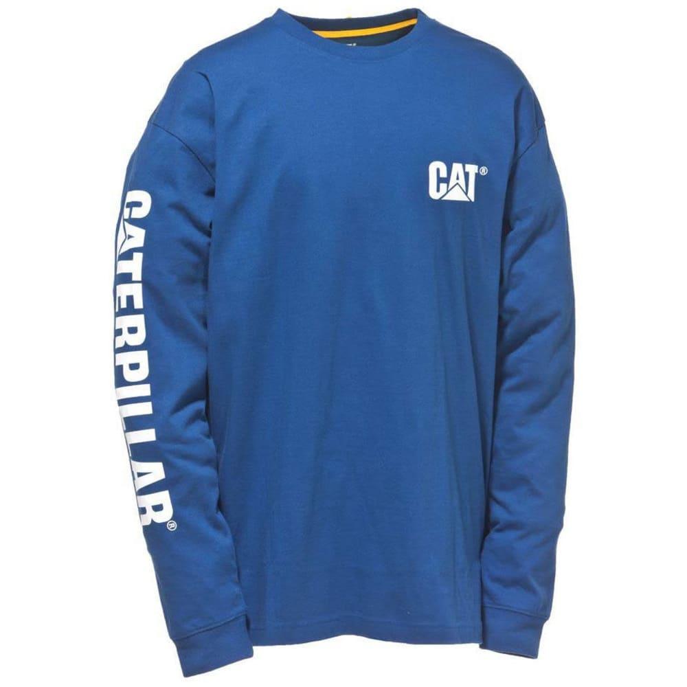 CAT Men's Trademark Banner Tee - 95B BRT BL
