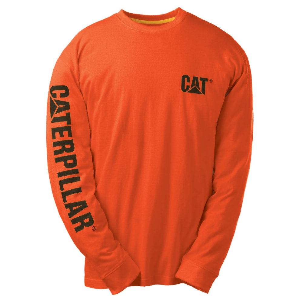CAT Men's Trademark Banner Tee - 10102 ADO OR