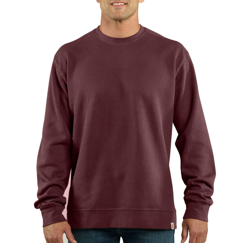 CARHARTT Men's Crewneck Sweater Knit - PORT
