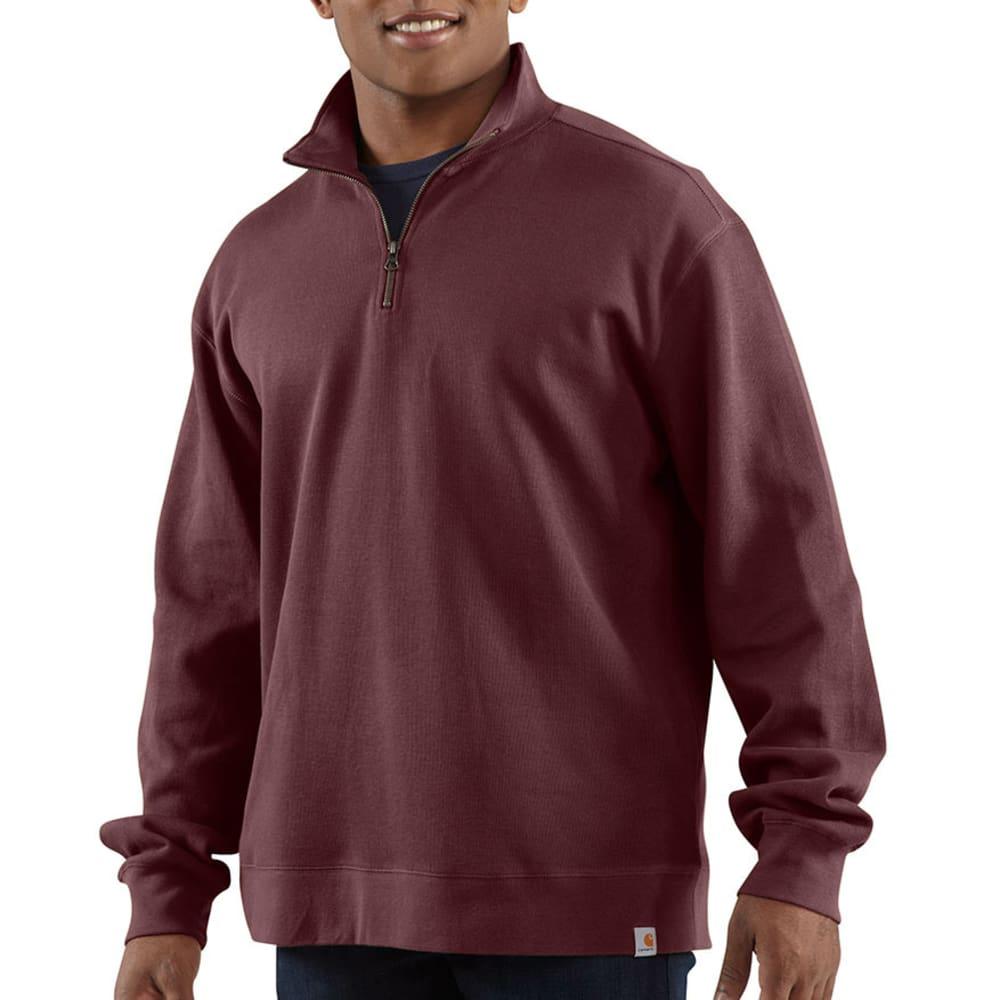 CARHARTT Men's Sweater Knit Quarter-Zip - PORT