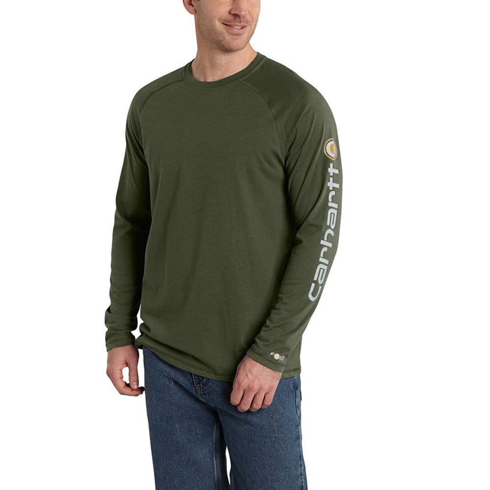CARHARTT Men's Force Delmont Sleeve Graphic Tee S