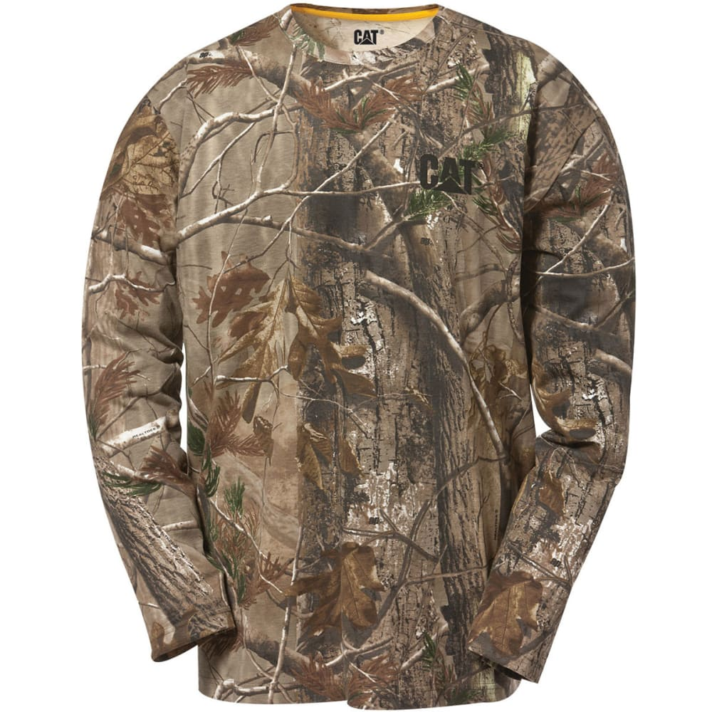 CAT Men's Camo Tee - 981 REAL TREE CAMO