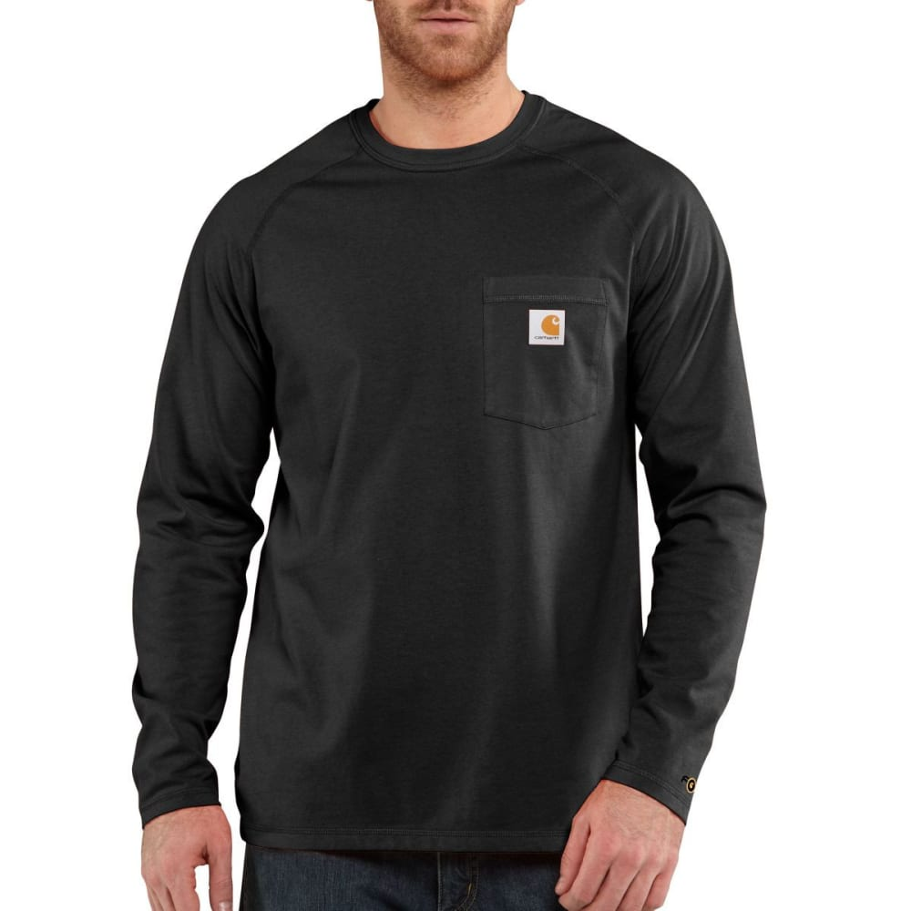 CARHARTT Men's Force Cotton Long-Sleeve Tee S