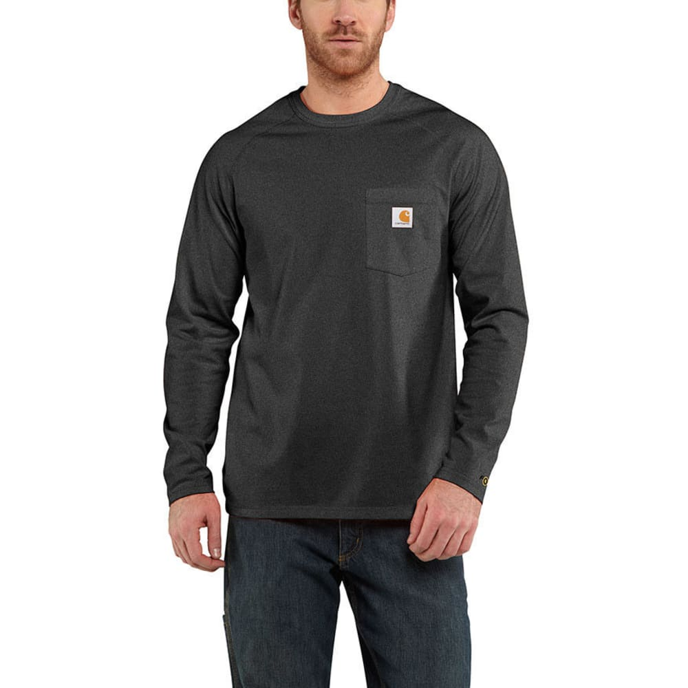 Carhartt Men's Force Cotton T-Shirt - Black, M